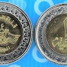 "Egypt Coins Metal-Munzen-Monedas- LOT x10"" New Suez Canal"", One Pound ,UNC 2015"