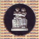 1994 Egypt silver 5 Pound Proof coin Ägypten Silbermünzen,The Dwarf Seneb,KM#831