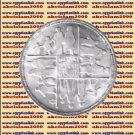 """1990 Egypt Egipto Египет Ägypten Silver Coins """" National Population Center """",5 P"""