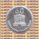 """2006 Egypt Egipto Mısır Египет Ägypten Silver Coin """" The UNESCO """"  #KM978, 5 P"""