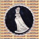 1994 Egypt silver 5 Pound Proof coin Ägypten Silbermünzen, Golden Falcon ,#KM795