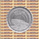 """2002 Egypt Egipto مصر Ägypten Silver Coins"""" The Bibliotheca Alexandria """" ,1 P"""