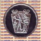 1993 Egypt silver 5 Pound Proof coin Ägypten Silbermünzen,Narmar Palette, #KM742