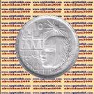 """1977 Egypt Egipto Египет Ägypten Silver Coins """" 1971 Corrective Revolution """",1 P"""