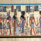 """Egyptian, Pharaonic, Authentic Papyrus Paint size 40x90 cm(16""""x36""""), Variety"""