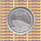 """2002 Egypt Egipto Египет Ägypten Silver Coins"""" The Bibliotheca Alexandria """" ,1 P"""