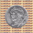 """1984 Egypt Egipto Египет Ägypten Silver Coins """" Sculptor Mahmoud Mokhtar """",5 P"""