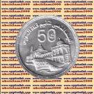 """2006 Egypt Egipto مصر Ägypten Silver Coins """" Suez canal nationalization """",1 P"""
