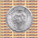 """1989 Egypt Egipto Египет مصر Silver Coins, """" First Arab Olympics games"""", 5 P"""