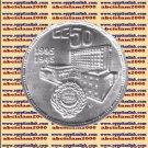 """1995 Egypt Egipto Египет Ägypten Silver Coins """"The Arab League"""", 5 P, KM#765"""