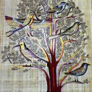 "Egyptian, Pharaonic Papyrus Paint size70x100 cm (28""x40"") , Fast Shipping"