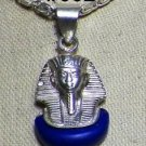 "Hall marked Egypt Египет Ägypten Pharaoh Silver Pendant ""King Tut, Ankh"",Variety"