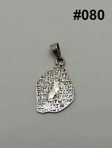 Hall marked Egyptian Pharaonic Silver Pendant,Lotus ,Bastet,Eye of Horus,Variety