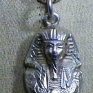 "Hall marked Egypt Ägypten Pharaonic Silver Pendant ""King Tut,Lotus,Isis"",variety"