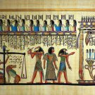 "Egyptian Papyrus HandMade Painting,size 100x200cm (40""x80"") Judgement Day#244"