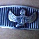 Hallmark Egyptian Pharaoh Silver Cuff Bracelet, and Isis