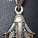 Hallmark Egyptian Pharaonic Silver Pendant Lotus Flower variety