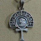 "Hallmark Egyptian Pharaonic Silver Pendant ""Scarab , Ankh ,Tut , Isis,Variety"