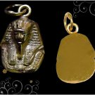 Egyptian HallMark 18 Karat Gold pendant, ancient Egypt Pharao's  King Tut Bust