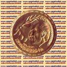 """1980 Egypt Egipto Египет Ägypten Gold Coins,"""" President ANWAR SADAT"""" Peace Dove"""