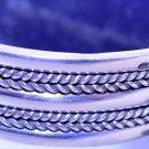 Hallmark Egyptian Pharaoh Silver Cuff Bracelet, Tribal, Sewi, Islamic style