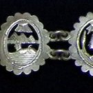 Hallmark Egyptian Pharaoh Silver Bracelet,Cleopatra ,Nefertiti, Scarab,and Lotus