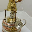 Handmade Brass Turkish Coffee Maker alcohol burner fun and entertaining set