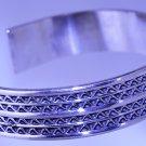 Hallmark Egyptian Silver Bracelet,  Silver Sewi Tribal Style