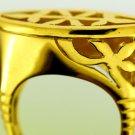 CUSTOMIZE Your Own Fascinating 18 Karat Gold ethinic Egypt Islamic Tribal Ring