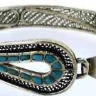 Hallmark Egypt Египет Ägypten Pharaoh Silver Bracelet, colorful Ankh