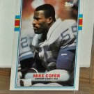 FOOTBALL - COFER, MIKE