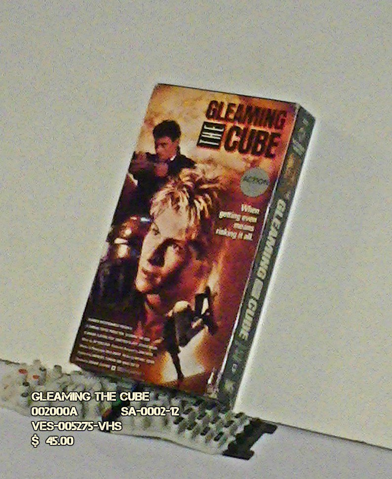 VHS - GLEAMING THE CUBE