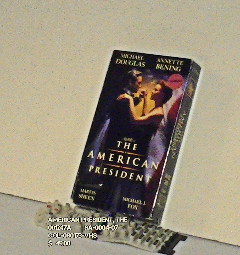 VHS - AMERICAN PRESIDENT, THE