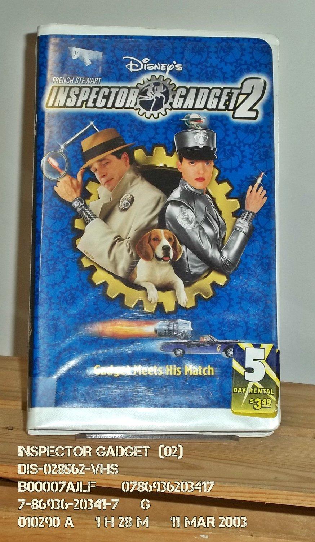 VHS - INSPECTOR GADGET  (02)