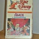VHS - ALICE IN WONDERLAND  **