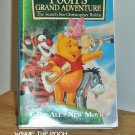 VHS - WINNIE THE POOH - MANY ADVENTURES