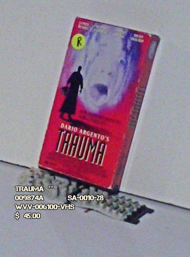 VHS - TRAUMA  **