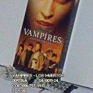 VHS - VAMPIRES -LOS MUERTOS
