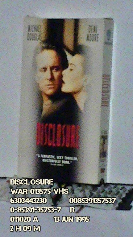 VHS - DISCLOSURE