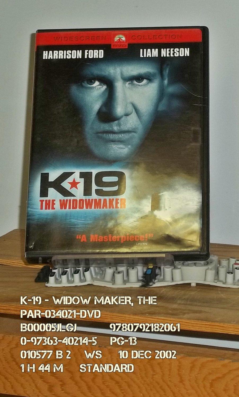 DVD - K-19 - WIDOW MAKER, THE