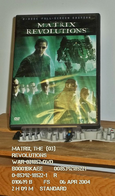 DVD - MATRIX, THE  (03)  REVOLUTIONS