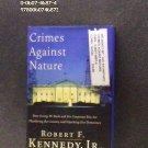 BOOK - CRIMES AGAINST NATURE