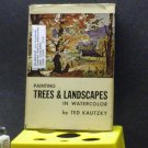 BOOK - PAINTING TREES & LANDSCAPES