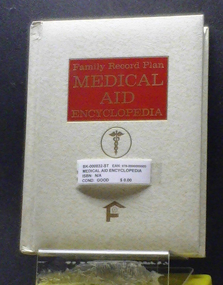 BOOK - FAMILY RECORD PLAN MEDICAL ENCYCL