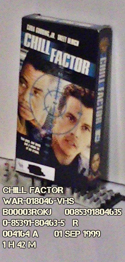 VHS - CHILL FACTOR