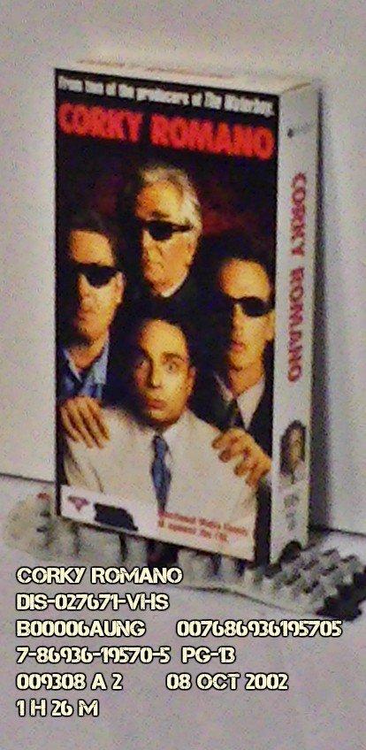 VHS - CORKY ROMANO