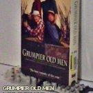 VHS - GRUMPIER OLD MEN