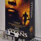 VHS - REMEMBER THE TITANS