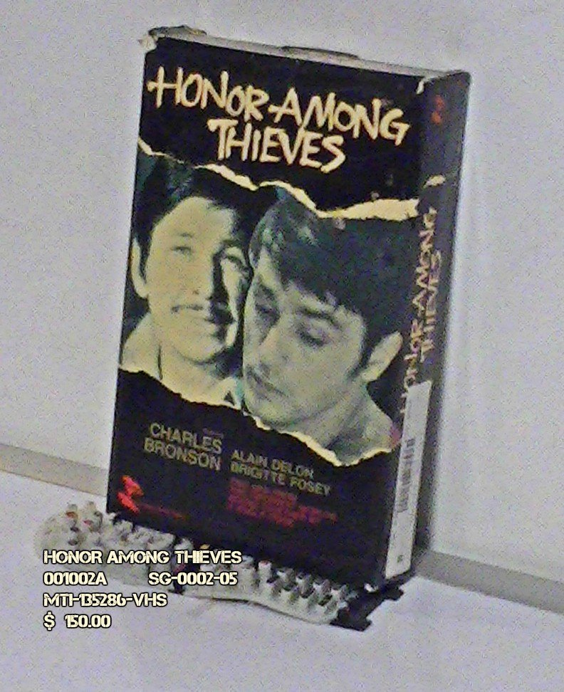 VHS - HONOR AMONG THIEVES