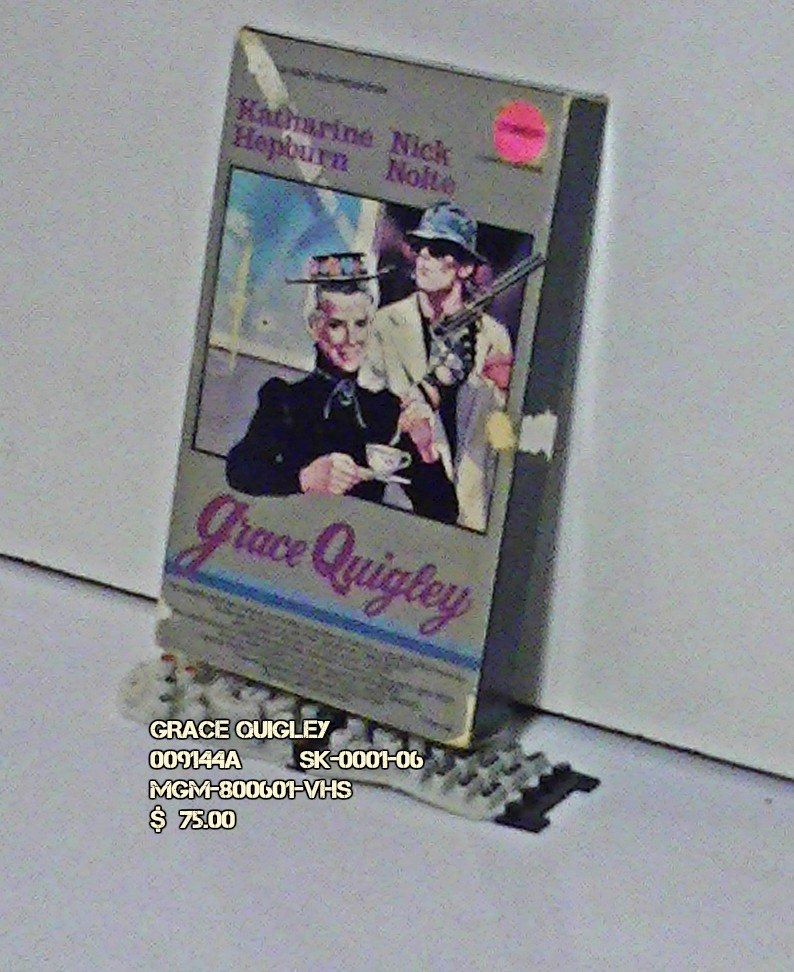 VHS - GRACE QUIGLEY